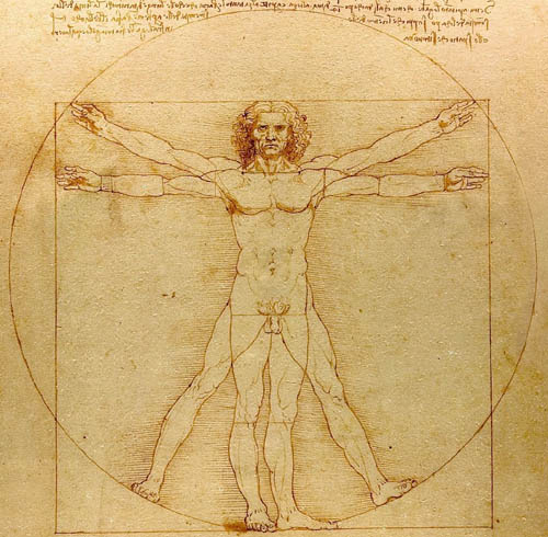 Leonardo-Uomo-Vitruviano