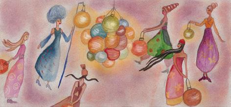 Dipinto di Eva Martinez Olalla