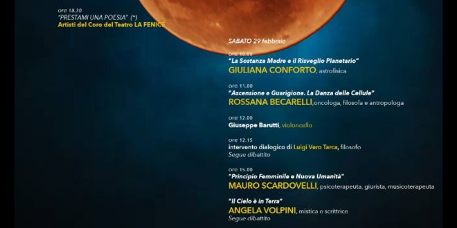 Venezia 28-29 febbraio 2020 – Cura e Co-Scienza